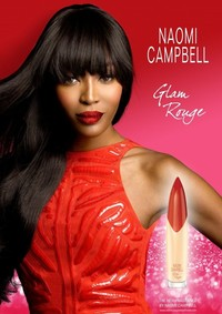 Постер Naomi Campbell Glam Rouge