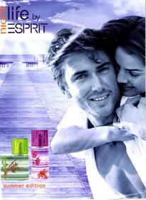 Постер Esprit Night Life Summer Edition Women