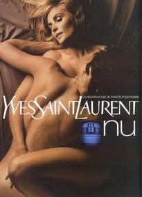 Постер Yves Saint Laurent Nu Eau de Toilette