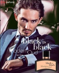 Постер nuparfums Black Is Black Modern Oud