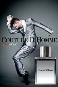 Постер nuparfums Couture D'homme