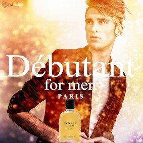 Постер nuparfums Débutant For Men