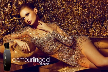 Постер nuparfums Glamour In Gold