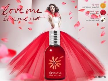 Постер nuparfums Love Me Love Me Not