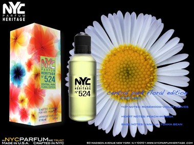 Постер nuparfums Nyc Parfum Heritage Nº 524 - Central Park Floral Edition