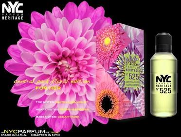 Постер nuparfums Nyc Parfum Heritage Nº 525 - Central Park Floral Edition