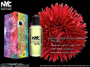 Постер nuparfums Nyc Parfum Heritage Nº 526 - Central Park Floral Edition