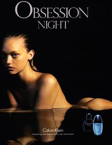 Постер Calvin Klein Obsession Night for Women