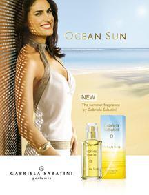 Постер Gabriela Sabatini Ocean Sun