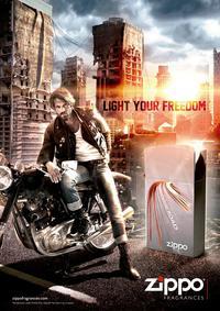 Постер Zippo Fragrances On The Road