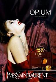 Постер Yves Saint Laurent Opium