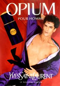 Постер Yves Saint Laurent Opium pour Homme