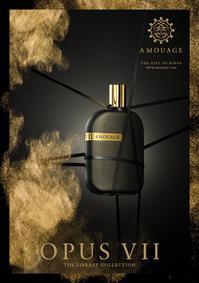 Постер Amouage Opus VII