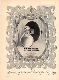 Постер Caron Or et Noir