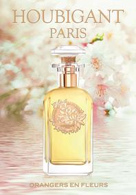 Постер Houbigant Orangers En Fleurs