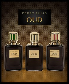 Постер Perry Ellis Oud Black Vanilla Absolute