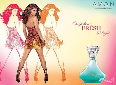 Постер Avon Outspoken Fresh By Fergie