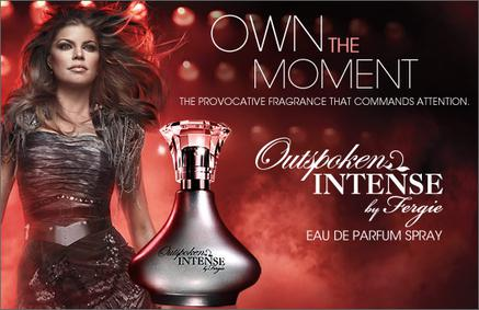 Постер Avon Outspoken Intense by Fergie