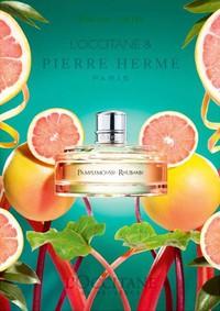 Постер L`Occitane Pierre Herme Pampelmousse Rhubarb