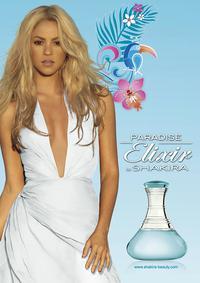 Постер Shakira Paradise Elixir
