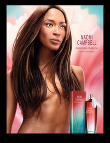 Постер Naomi Campbell Paradise Passion