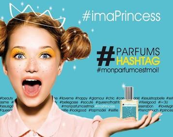 Постер Parfum Hashtag #imaPrincess