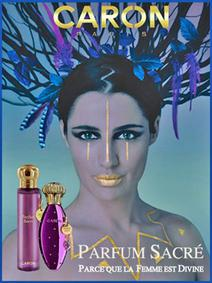 Постер Caron Parfum Sacré Intense