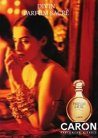 Постер Caron Parfum Sacre