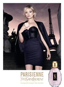 Постер Yves Saint Laurent Parisienne