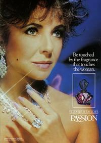 Постер PASSION Elizabeth Taylor
