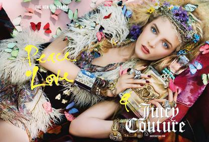 Постер Peace, Love & Juicy Couture