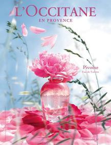 Постер L`Occitane Peony (Paeonia)