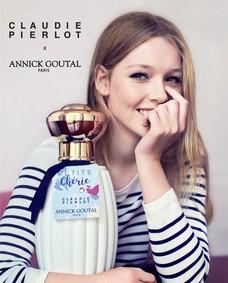 Постер Petite Chérie Claudie Pierlot x Annick Goutal