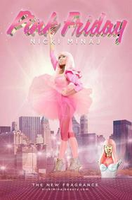 Постер Nicki Minaj Pink Friday
