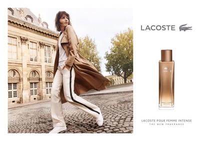 Постер Lacoste Pour Femme Intense