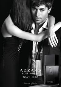 Постер Azzaro Pour Homme Night Time