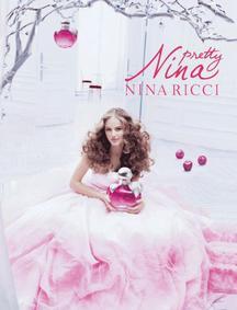 Постер Nina Ricci Pretty Nina