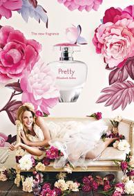 Постер Elizabeth Arden Pretty