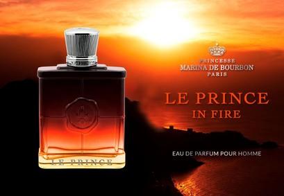 Постер Princesse Marina De Bourbon Le Prince In Fire