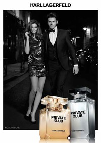 Постер Karl Lagerfeld Private Klub for Men