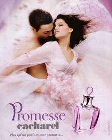 Постер Cacharel Promesse