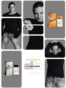 Постер David Bisbal Pura Esencia Man