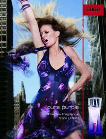 Постер Hugo Boss Pure Purple