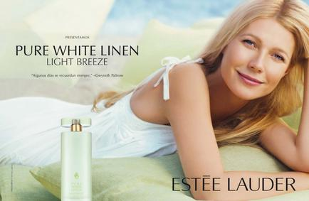 Постер Estee Lauder Pure White Linen Light Breeze