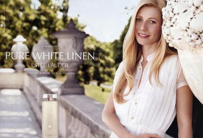 Постер Estee Lauder Pure White Linen