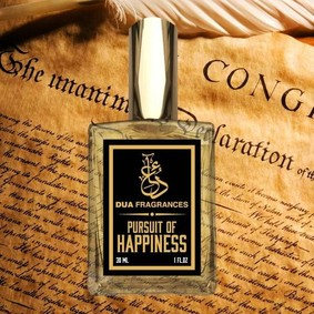 Постер Dua Fragrances Pursuit of Happiness