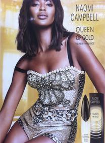 Постер Naomi Campbell Queen Of Gold