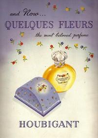 Постер Houbigant Quelques Fleurs