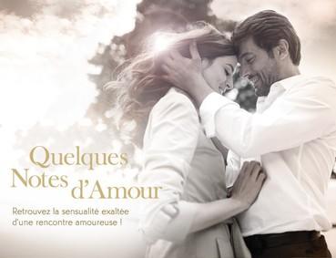 Постер Yves Rocher Quelques Notes d`Amour L'eau de Parfum