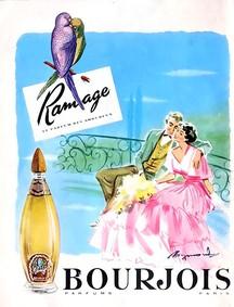 Постер Bourjois Ramage